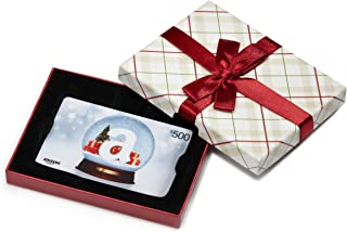 Gift Card in a Plaid Gift Box (Various Card Designs)