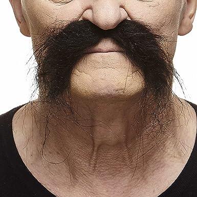Fake handlebar moustache fake mustache cheap fake mustache stick on mustache