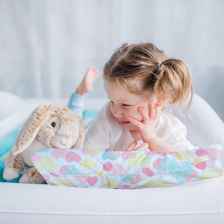 Hearts Little Sleepy Head Toddler Pillowcase 13 x 18-100/% Cotton /& Hypoallergenic