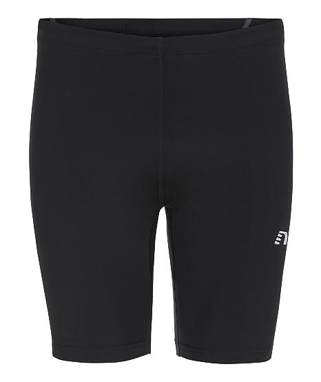 NewLine Niños Base Sprinter Pantalones Cortos, Todo el año, Infantil, Color Negro,