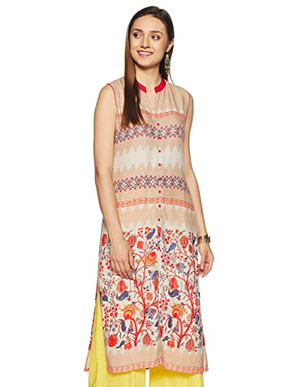 e1e03713e97 Soch Women s Straight Fit Kurta  Amazon.in  Clothing   Accessories