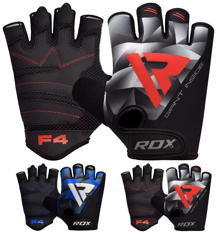 MEHRWEG RDX Fitness Handschuhe Trainingshandschuhe Handgelenkschutz Gewichtheben krafttraining Bodybuilding Sporthandschuhe Rindsleder Workout Gym Gloves.
