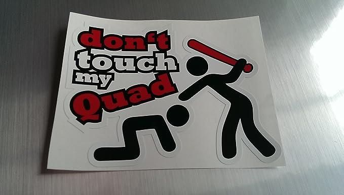 Folien Zentrum Dont Touch My Quad Shocker Hand Auto Aufkleber Jdm Tuning Oem Dub Decal Stickerbomb Bombing Fun W Auto