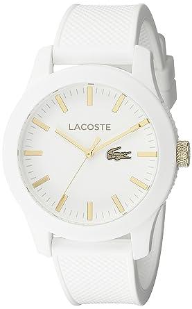 24f8ca5d71 Amazon.com  Lacoste Men s 2010819 Lacoste.12.12 Analog Display ...