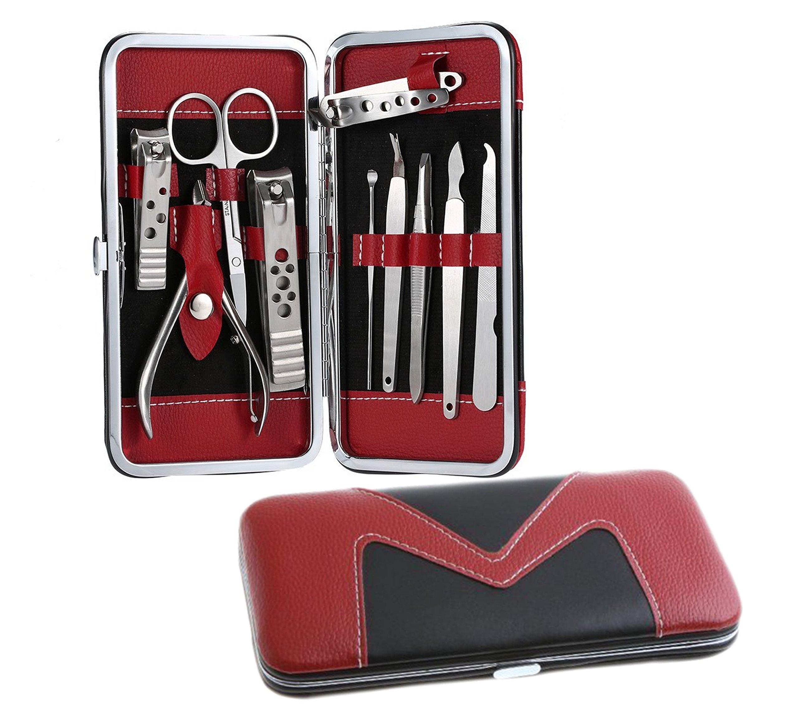 Amazon.com: 1 Set Pedicure / Manicure Set Nail Clippers Cleaner ...