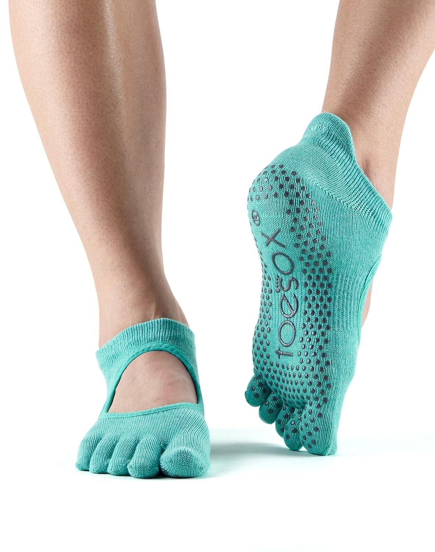 Toesox Bellarina Full Toe Calze da Yoga, Unisex Adulto