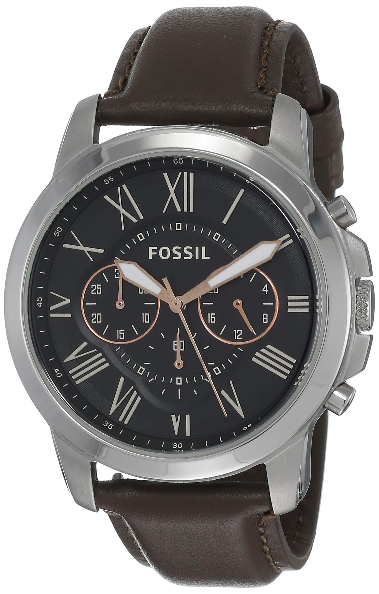 Men's Grant Stainless Steel Quartz Chronograph Watch