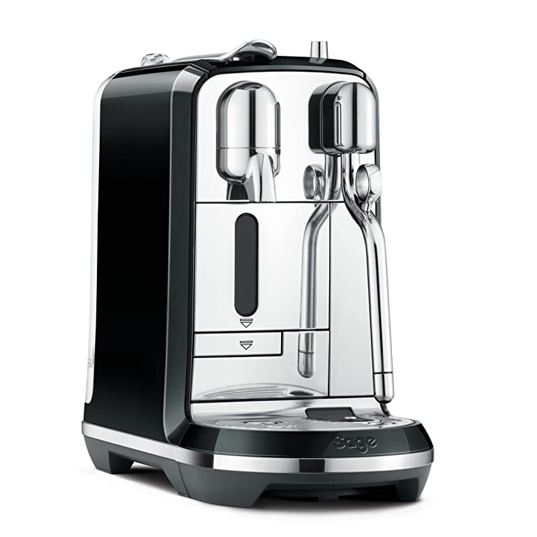 Nespresso Creatista Coffee Machine, Black by Sage: Amazon.co.uk ...