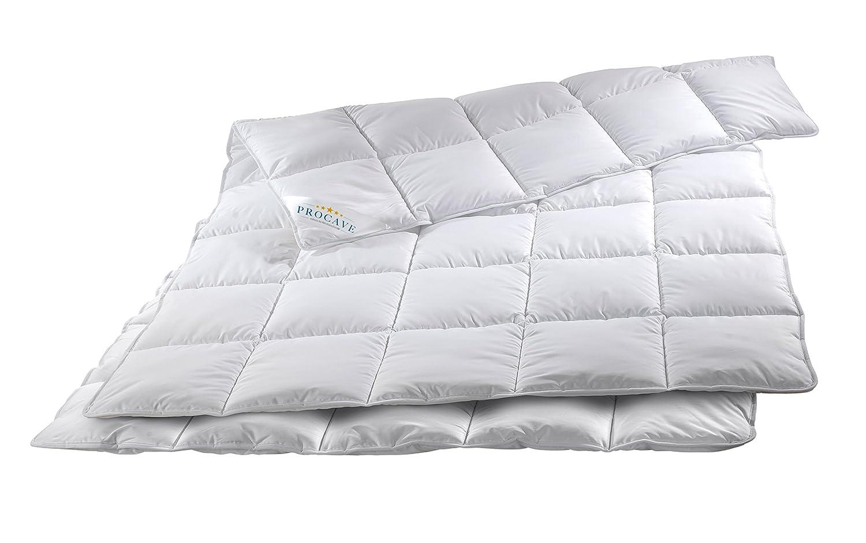 PROCAVE MICRO-COMFORT 4 Jahreszeiten 200x200 cm Ganzjahresdecke   Mircofaser   Steppdecke   Bettdecke   Einziehdecke   Mono Decke   Steppbett   Soft Touch