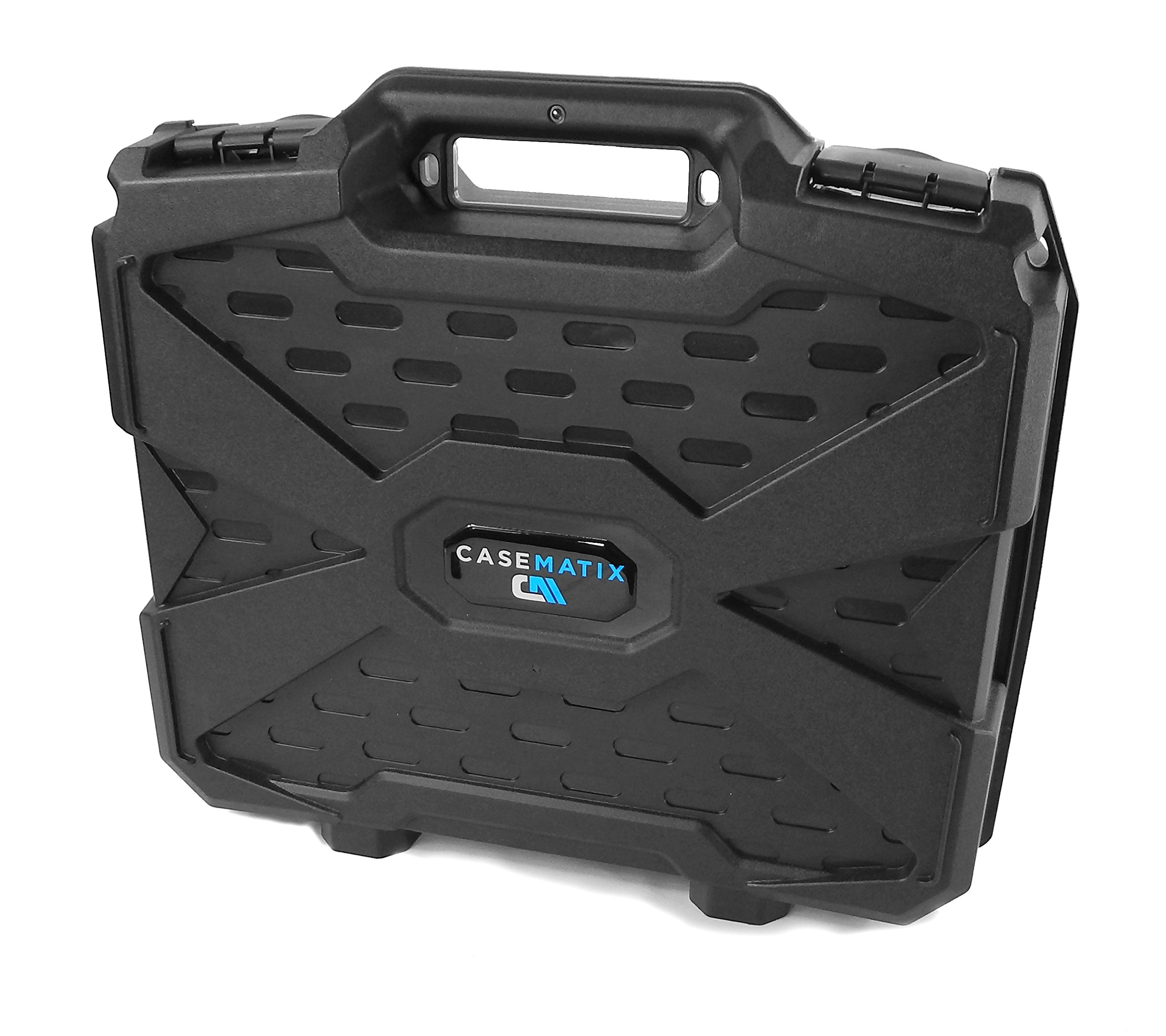 ConsoleCASE Travel Carrying Case (17'') for DJ Controller or Mixer and Accessories - Fits Hercules DJControl Instinct S Series , Instinct P8 , Air S , Instinct for iPad / P32DJ / DJConsole RMX 2 , Mk4