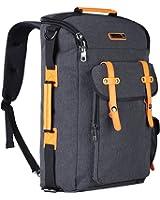 Witzman Water Resistant Travel Duffel Backpack Outdoor Hiking Rucksack 6686
