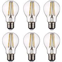 SD LUX LED Light Bulb Base Classic A Lamp E27, 8 W 806 Lumen Filament Lamps, Replaces 75 W Filament Bulb, 2700 K Warm…