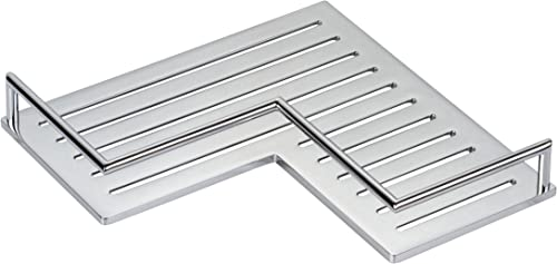Ginger 28505 PC Surface Mounted Bathroom Shelves, Corner Shelf, Polished Chrome