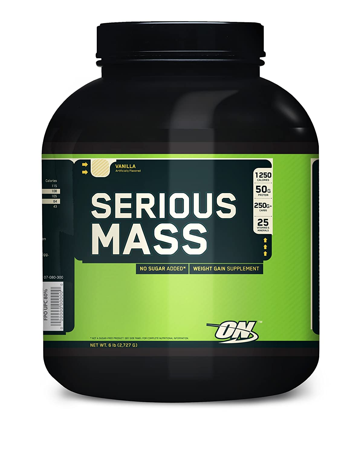 Optimum Nutrition SERIOUS MASS - vainilla - 2,724kg: Amazon.es: Alimentación y bebidas
