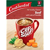 Continental Cup A Soup Beef with Lots of Noodles 7 x 59g