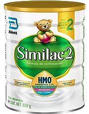 Similac   Etapa 2, Fórmula Infantil  en Polvo para bebes de 6 a 12 Meses, Contiene DHA, HMO   850g