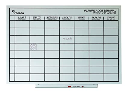 Amazon.com : Rocada Visualline Skin Magnetic Dry Erase Board ...