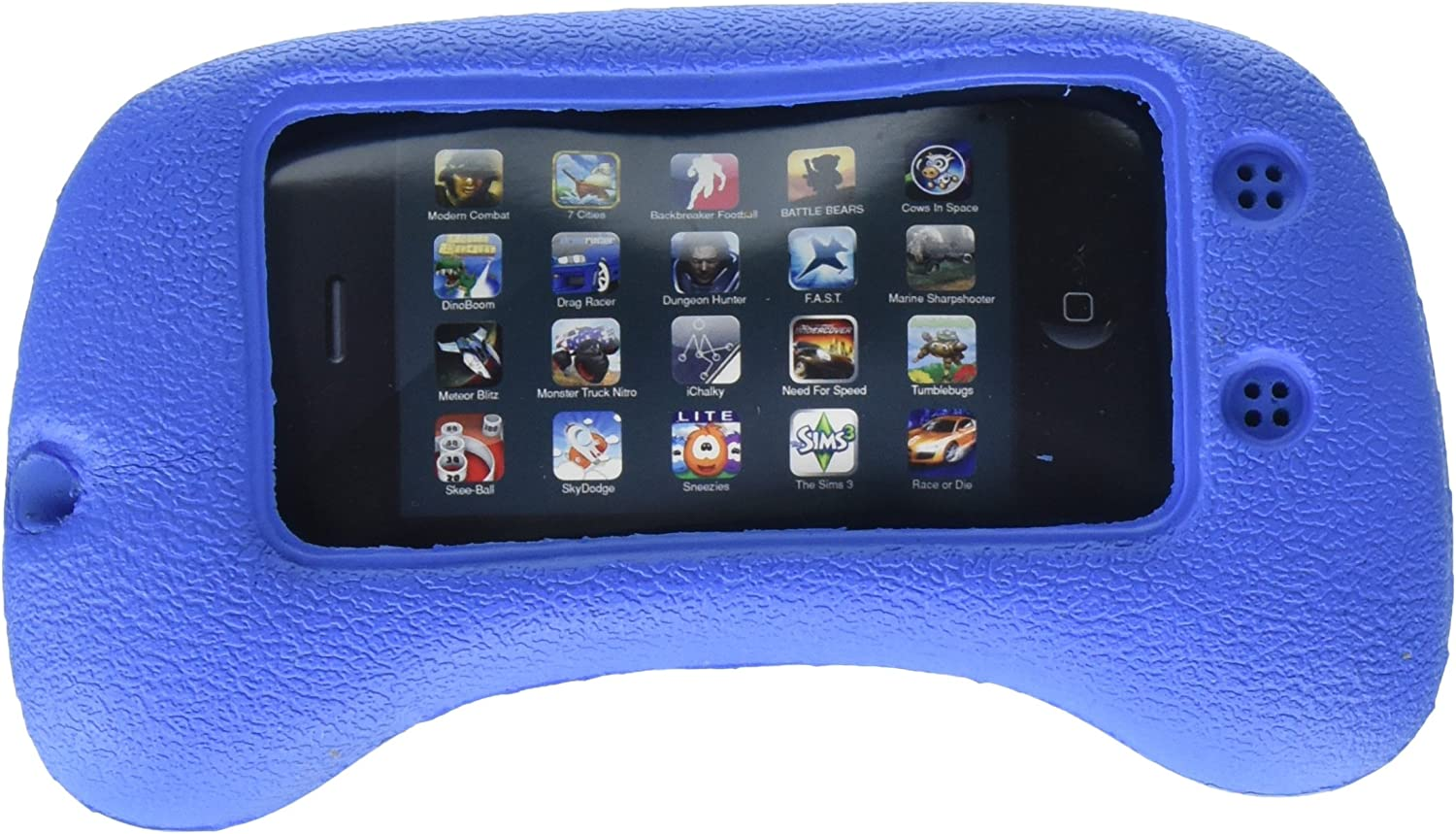 GRANDTEC SQZ-1000i Squeez Dock for iPod Touch (Blue)