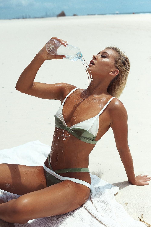XX&GXM Frauen Bikini 2017 Kampf Farbe Schlinge