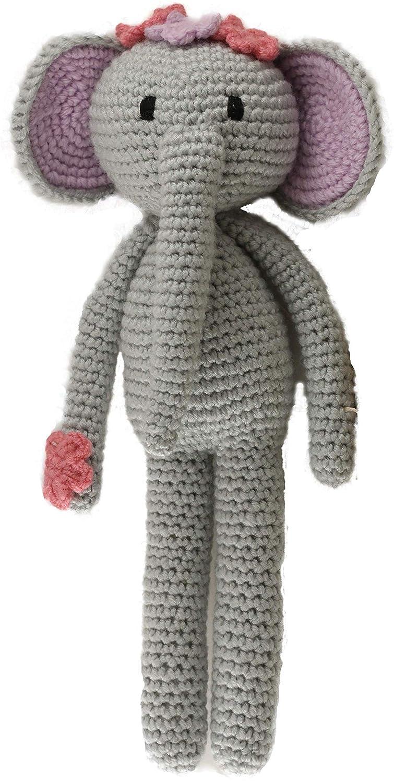 Amigurumi Plush elephant crocheted. Crochet pattern, detailed ... | 1500x755