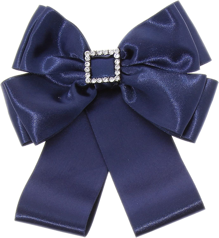 FASHIONGEN - Broche, corbata de mujer, LYNA - Azul: Amazon.es ...