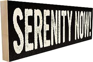 Aufkleber // Autoaufkleber 152x38mm US0424 JDM Seinfeld SERENITY NOW
