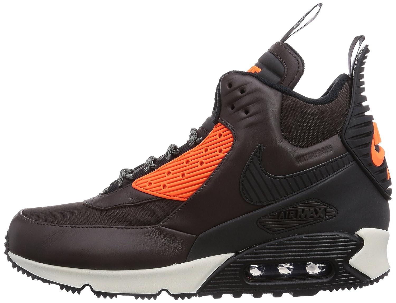 NIKE Air Max 90, Baskets mode homme - Marron (Velvet Brown/Black/Hypr Crmsn 200), 42 EU: Amazon.fr: Chaussures et Sacs
