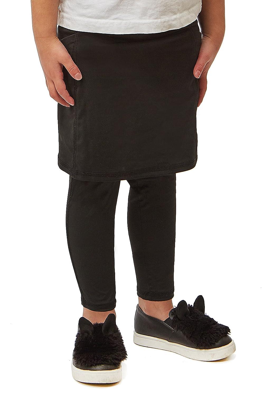 Snoga Girls Basic Pocket Active Skirt w/Full Length Leggings