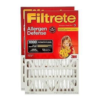 Filtrete MPR 1000 16x25x4 AC Furnace Filter