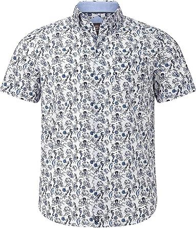 Jan Vanderstorm Fares - Camisa de manga corta para hombre ...