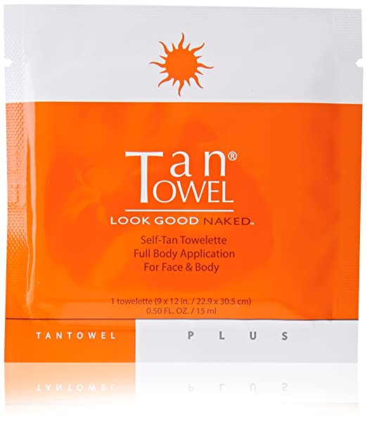 Tan Towel Self Tan Towelette Plus, 5 Count
