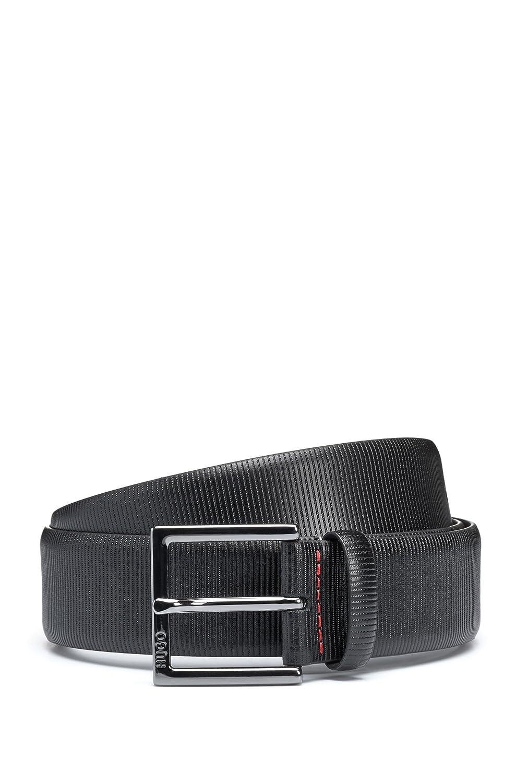 Hugo Boss Gollotys/_Sz35 Mens Formal Belt in Embossed Leather
