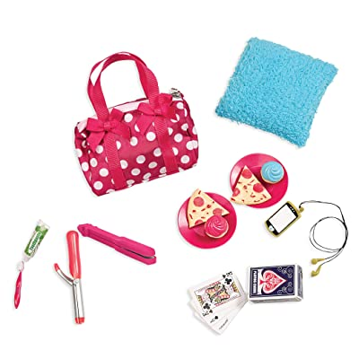 Our Generation Pegged Accessory - Polka Dot Sleepover Set: Toys & Games