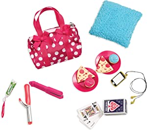 Our Generation Pegged Accessory - Polka Dot Sleepover Set