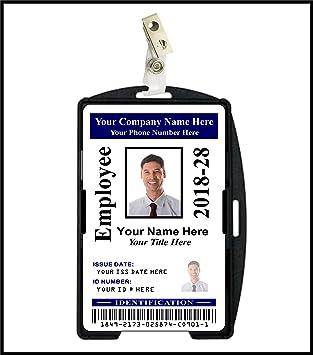 Amazon.com: Empresa/Corporate tarjeta de identificación ...