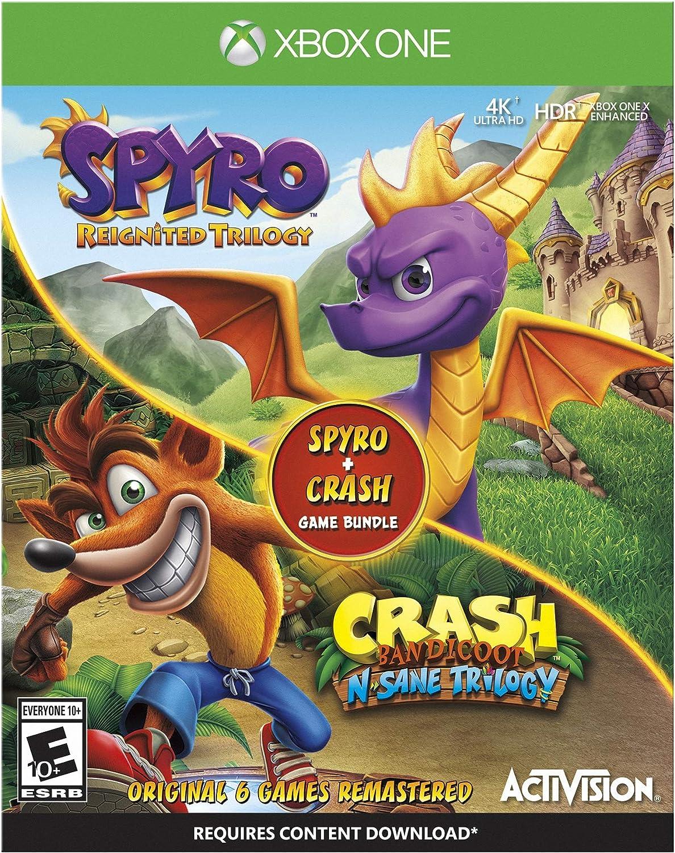 Spyro/Crash Bundle [Usa]: Amazon.es: Videojuegos