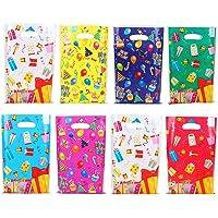 Herefun Verjaardagszakjes voor Kinderen, 80 Stuks Geschenkzakjes Kleurrijke Snoepzakjes set 8 Soorten Geschenkzakjes…