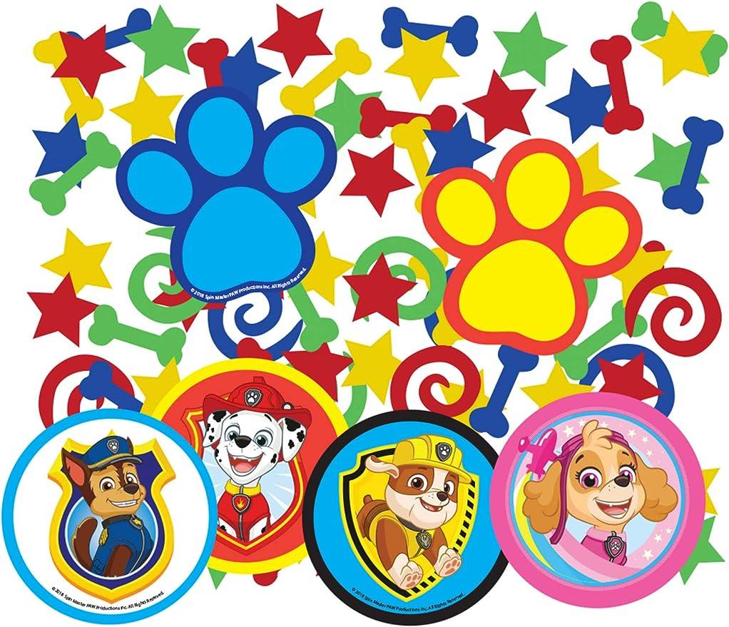 COOLMP – Lote de 12 Confeti de Mesa de la Patrulla Canina – Talla ...