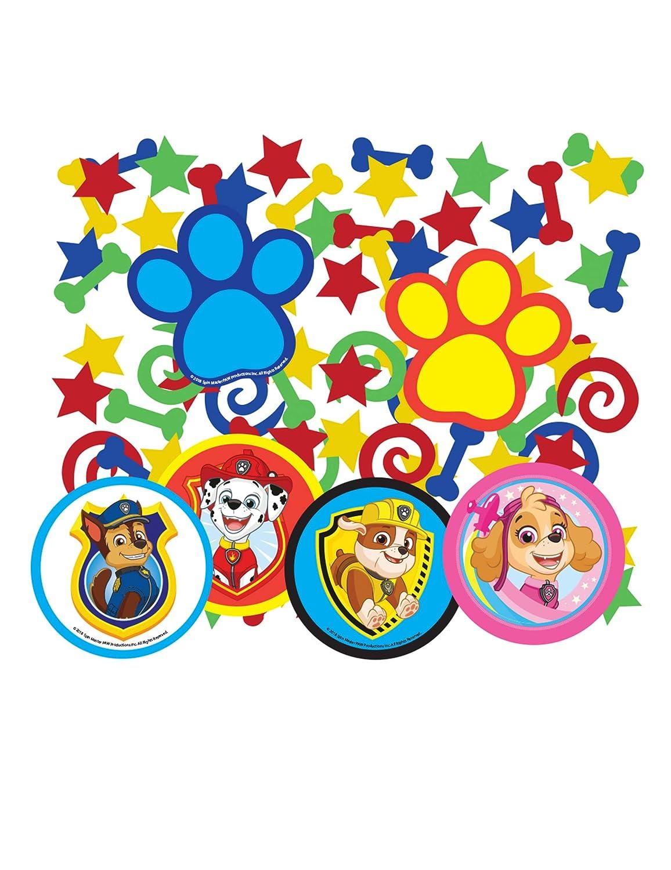 COOLMP - Lote de 12 Confeti de Mesa de la Patrulla Canina ...