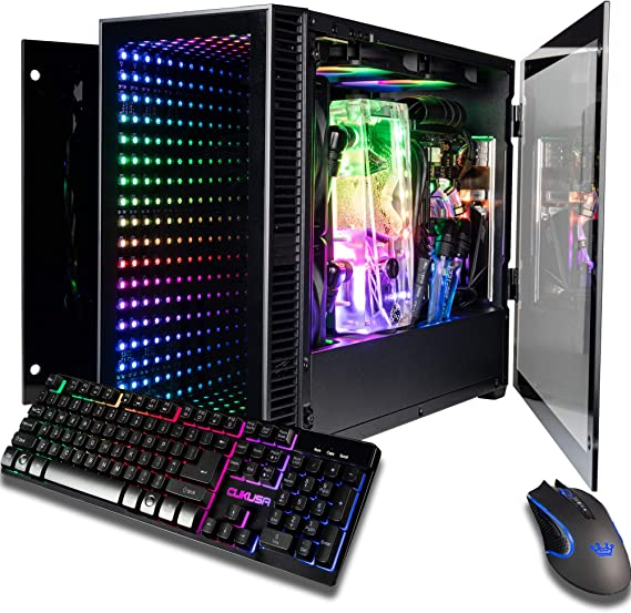 CUK Continuum Mini Monoblock Open Loop Gaming PC (Intel i9-9900KF