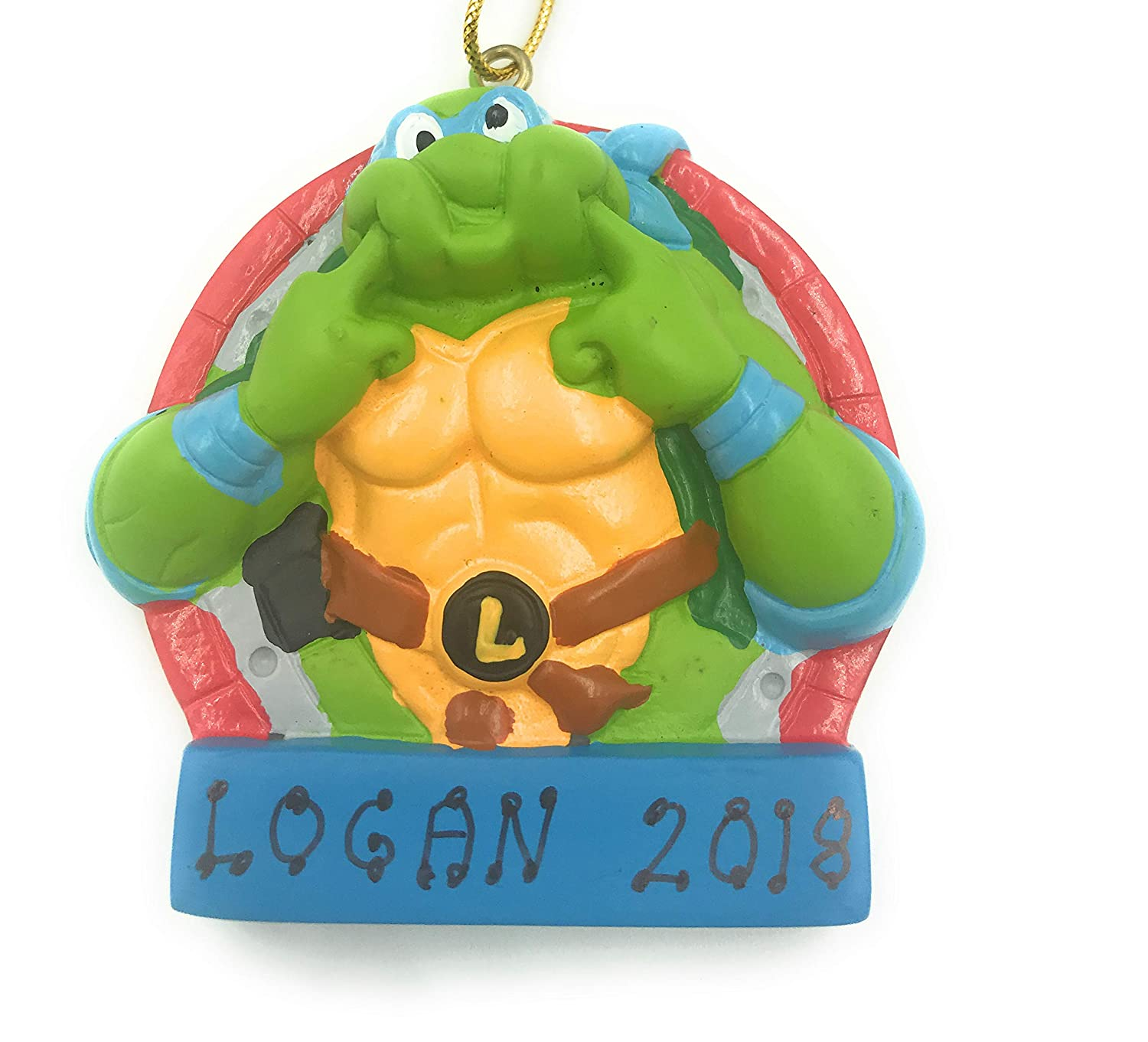 Personalized Ninja Turtle Ornament | www.topsimages.com