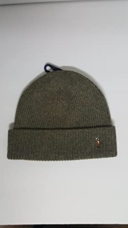 79a7e29191c Image Unavailable. Image not available for. Colour  Polo Ralph Lauren  Signature Merino Cuff Hat Men s One Size