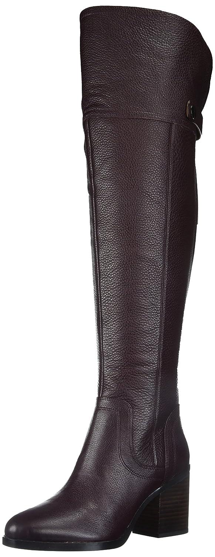 Franco Sarto Women's Ollie Wide Calf Over The Knee Boot B071NRX69Q 5.5 B(M) US|Dark Burgundy