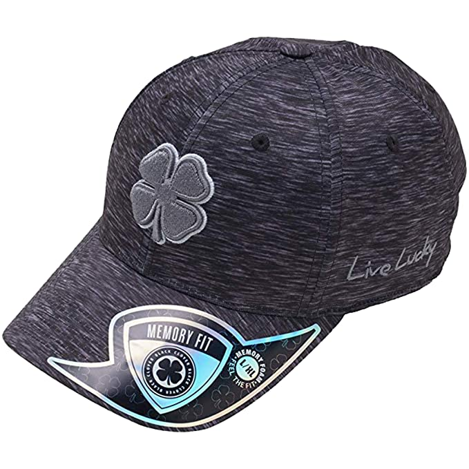 Black Clover Black Lucky Heather Premium Fitted Hat at Amazon Men s ... 772f52b0255