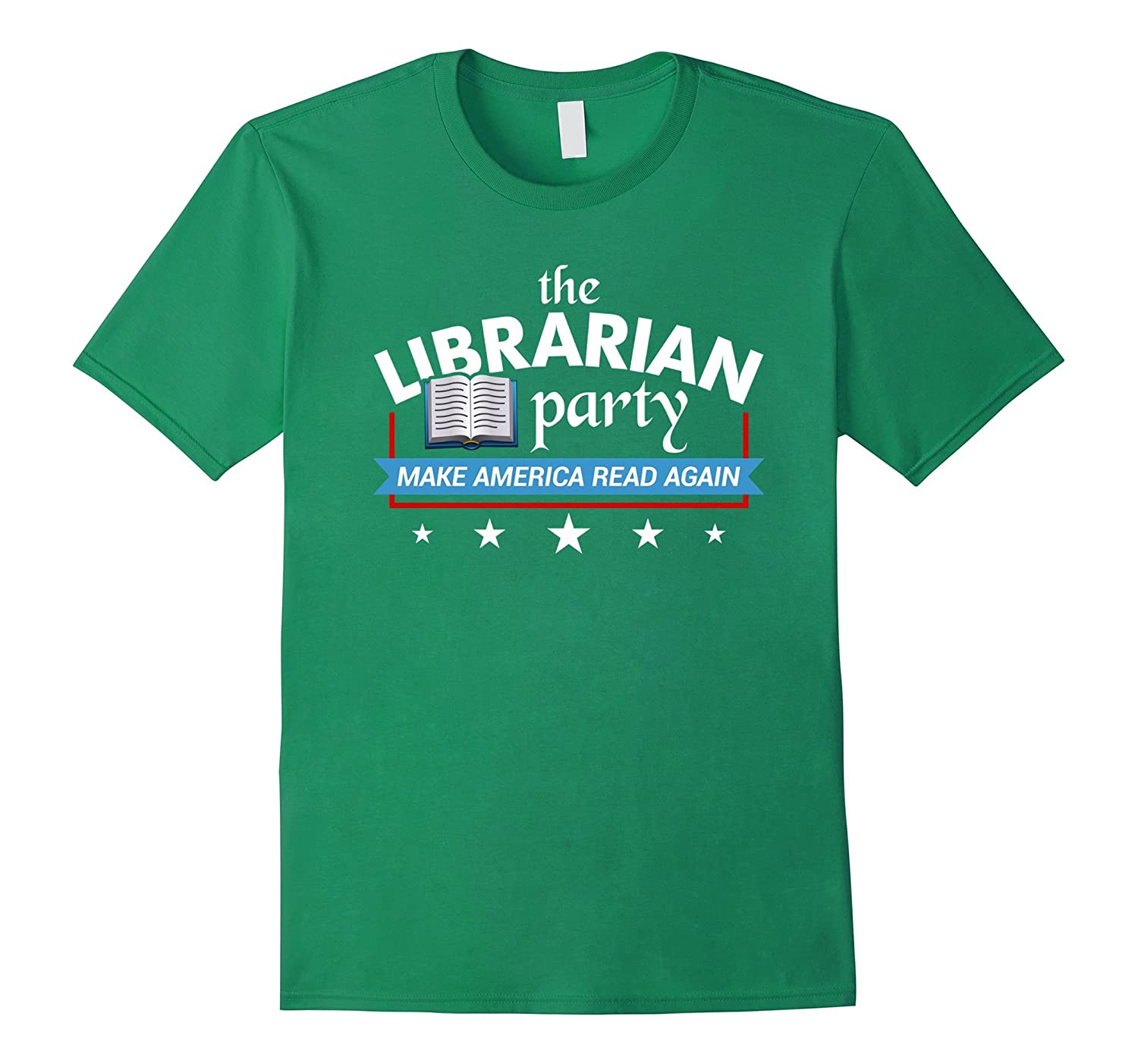 The Librarian Party Make America Read Again T-Shirt-TD