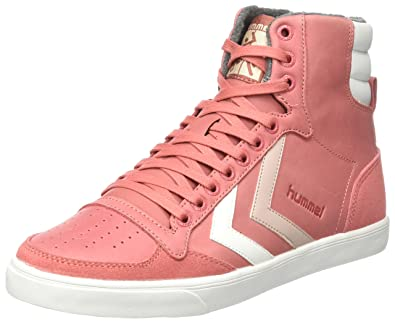 newest collection 20cba cd89e Amazon.com | Hummel Women's Slimmer Stadil Duo Oiled High Hi ...