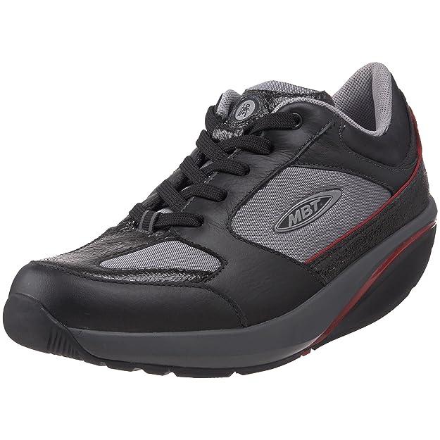 Mbt Zapatilla Moja Lux negro/gris/rojo 39: Amazon.es: Zapatos y complementos