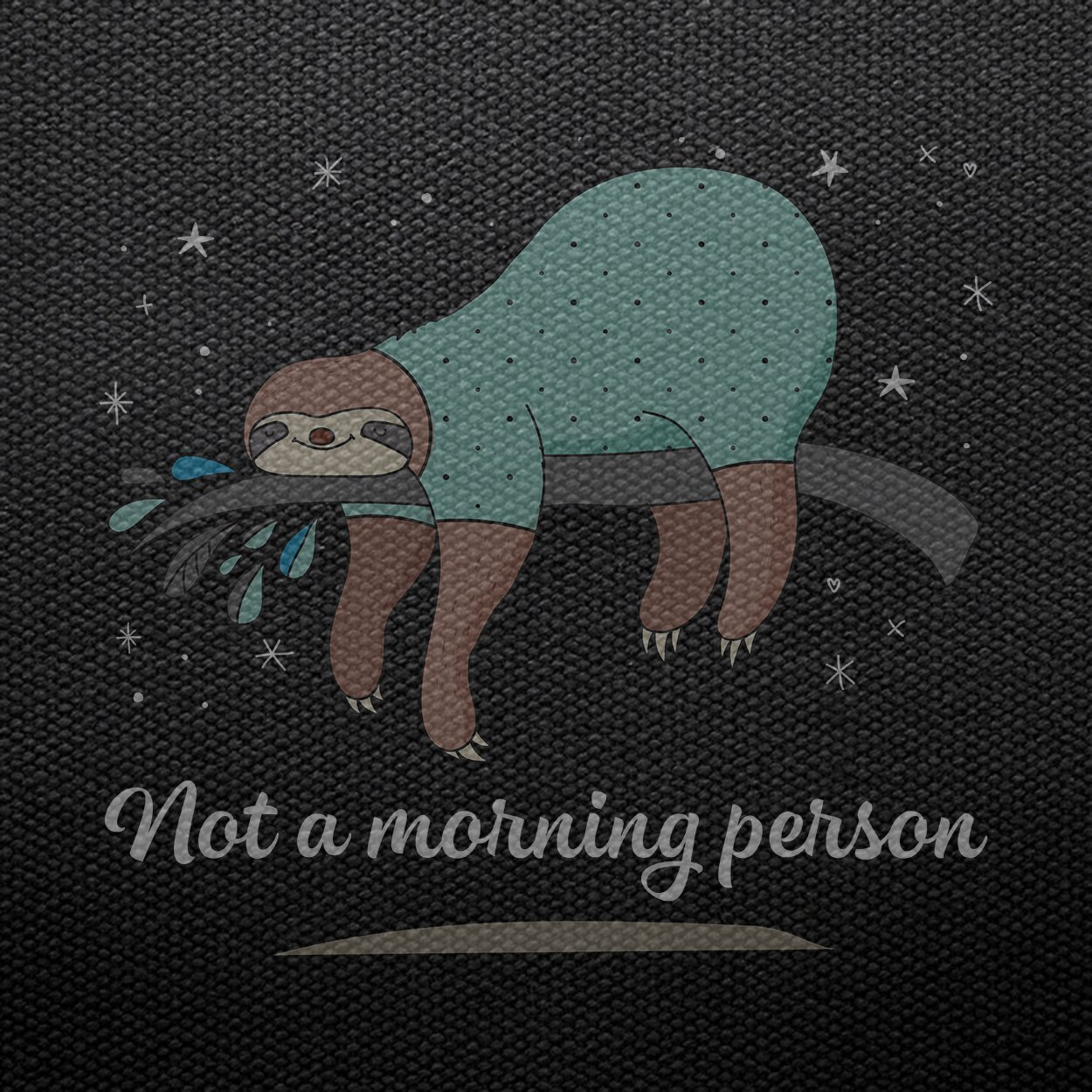 Sloth Not A Morning Person,Cute Animal,Funny Lovers Gift Tank Top
