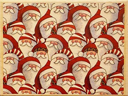 Amazon Com Santas Everywhere By Brother Sister Design Studio Christmas Wood Mounted Rubber Stamp Or1022 Arts Crafts Sewing