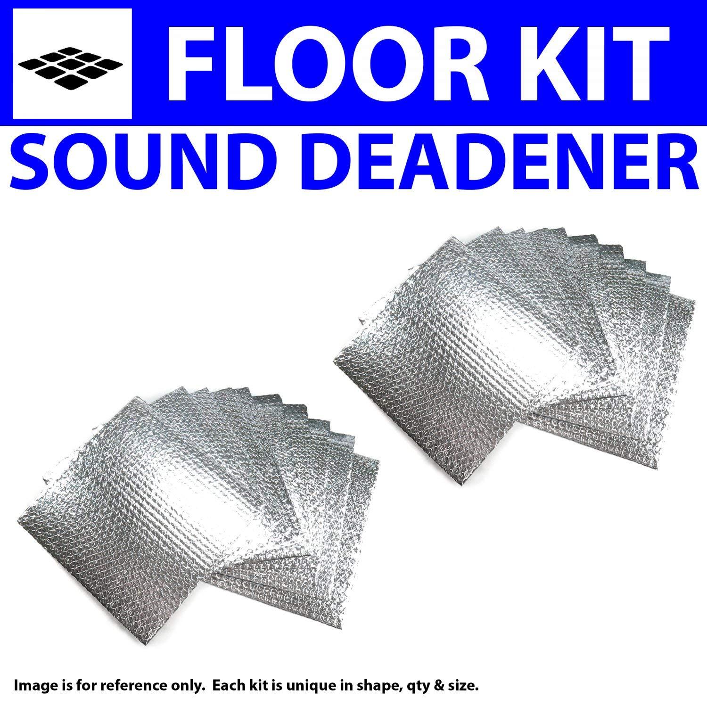 Zirgo 314587 Heat and Sound Deadener for 80-91 Ford Truck ~ Floor Kit